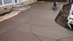 polished pouring concrete contractors