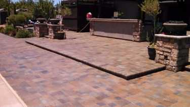 acid stain concrete patio stockton
