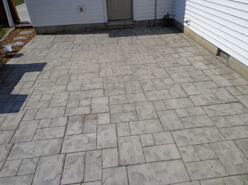 stamped concrete contractor tracy ca