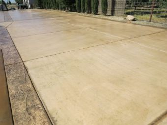 this picture shows walnut creek concrete driveway