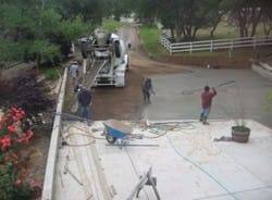 paving contractors concrete