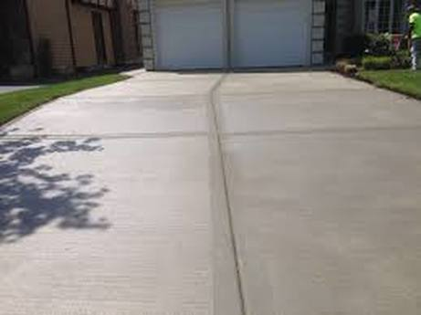 this is a picture of concrete merced driveway