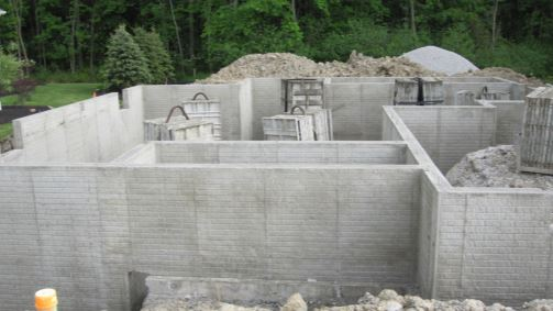 stockton concrete wall foundation